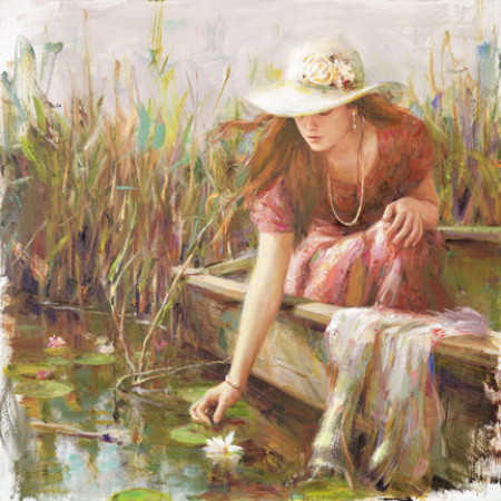 By The Pond 30x30