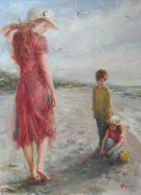 Vidan 1- 40x30 Oil on Canvas