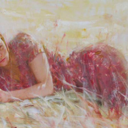 Vidan 13 - 24x40 Oil on Canvas