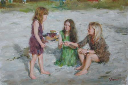 Vidan 14 - 20x30 Oil on Canvas