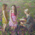 Vidan 8 - 30x30 Oil on Canvas